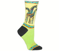 Women's Socks - Laurel Burch Giraffe