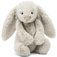 "Bashful Oatmeal Bunny 12"" by Jellycat"