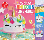 Sew Your Own Unicorn Cake Pillow by Klutz