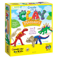 Create With Clay – Dinosaurs by Creativity For Kids