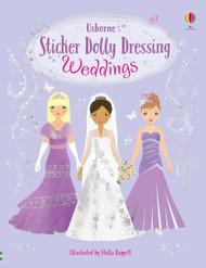 Sticker Dolly Dressing - Weddings by Usborne Books