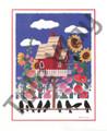 Ravens and Birdhouse (8x10)