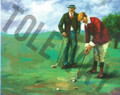 Old World Golf Kit (8x10)(1 mounted and 4 additional prints)