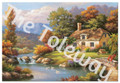 Cottage Stream (13x18-image 12x16)