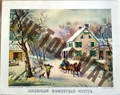 American Homestead Winter (11x14/9x12)