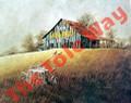 Chew Mail Pouch Barn (11x14)