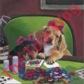 Dachshund Poker Pups (12x12)