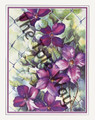 Clematis on Fence (11x14)