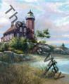 Eagle Harbor Light (13x17)