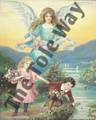 Guardian Angel & Children (8x10)