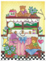 Powder Room Bears II (4x5)