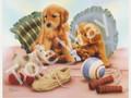 Playful Puppies (8x10)