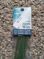 Panacea Green Cloth Covered 24 Gauge Wire
