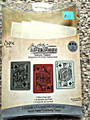Sizzix Tim Holtz Alterations Artist Trading Cards sized Poker Face Set