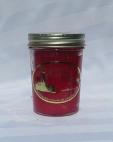Apple Jack and Orange Peel Lighthouse Candle