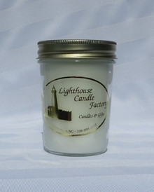 Christmas Amaretto Eggnog Lighthouse Candle