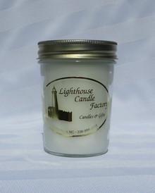 Christmas Amaretto Eggnog Lighthouse Candle