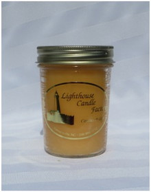 Dreamsicle Lighthouse Candle