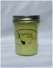 French Vanilla Cupcake Lighthouse Candle
