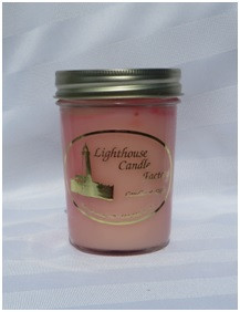 Raspberry Sangria Lighthouse Candle