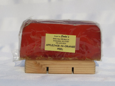 Apple-Jack-N-Orange Peel Glycerin Soap
