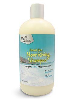 MG12 Dead Sea Nourishing Magnesium Shampoo