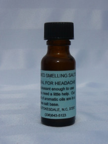 Smelling Salts for Headache Relief - 1/2 oz.