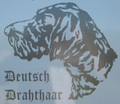 Deutsch Drahthaar Decal large