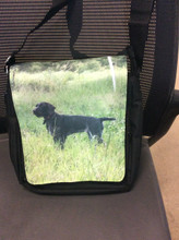 "Medium size purse with 9"" x 12"" photo flap"