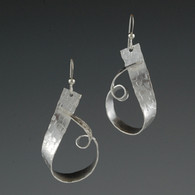 """Loop de Loop"" Silver Earrings"