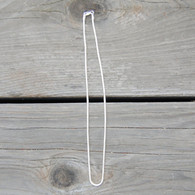 Snake Chain, 2.5 mm, Silver
