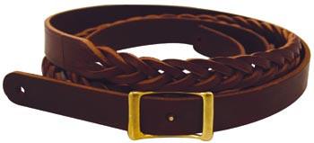 Marlene's 5 Plait Leather Reins