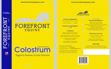 Colostrum is an all-natural, multi-purpose nutritional ingredient that offers a healthy boost to an animal's overall health.  With over 70 Growth Factors and over 80 Immune Factors including Transfer Factor this whole food is a powerhouse of cellular, tissue, GI tract, and immune support.
