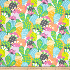 Desert Bloom Pastel - Alexander Henry Fabric