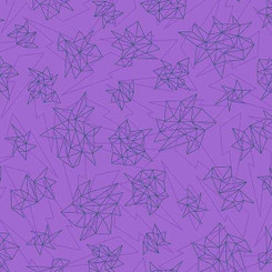 Tattooed Purple Quantum A-8443-MP - Andover Fabrics