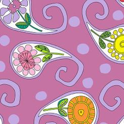 Garden Square A-7809-P - Andover Fabrics