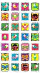 Sweet Tweets A-8349-X - Andover Fabrics