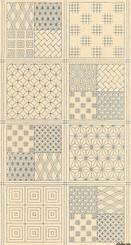 """Nuno Machi Cotton/Linen 24x44"""" Sashiko Panel 48040 22L - Moda Fabrics"""
