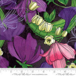 Sweet Pea Lily Stormy - Moda fabrics