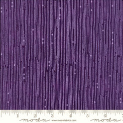Sweet Pea Lily Violet Broken Lines - Moda fabrics