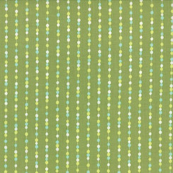 Color Me Happy Lime Beads - Moda fabrics