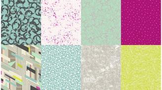 Nineteen Eighty Five Q4546-608 Macaron by Latifah Saafir - Hoffman Fabrics