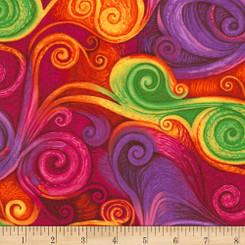 Dream Fantasy Swirl - Timeless Treasures fabric
