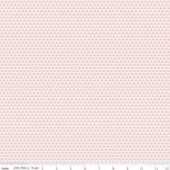 Edie Jane Triangle Pink - Riley Blake Designs