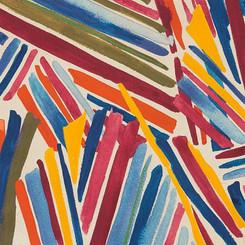 Wilderberry Stripe - Alexander Henry Fabrics