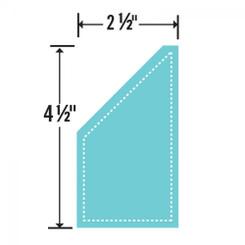 """Sizzix Bigz Die - Trapezoid, 2 1/2"""" x 4 1/2"""" Unfinished"""