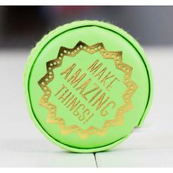 The Makery Macaron Tape Measure - Pistachio