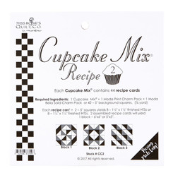 Cupcake Mix Recipe #2 - Miss Rosie's Quilt Co.