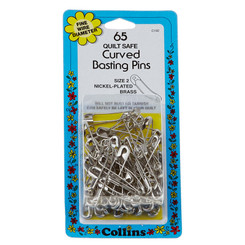 Curved Basting Pins - Collins