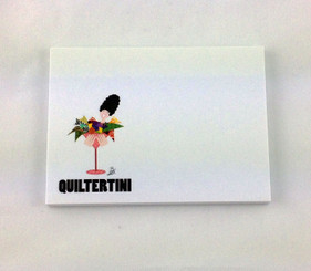 Quiltertini Sticky Note Pad
